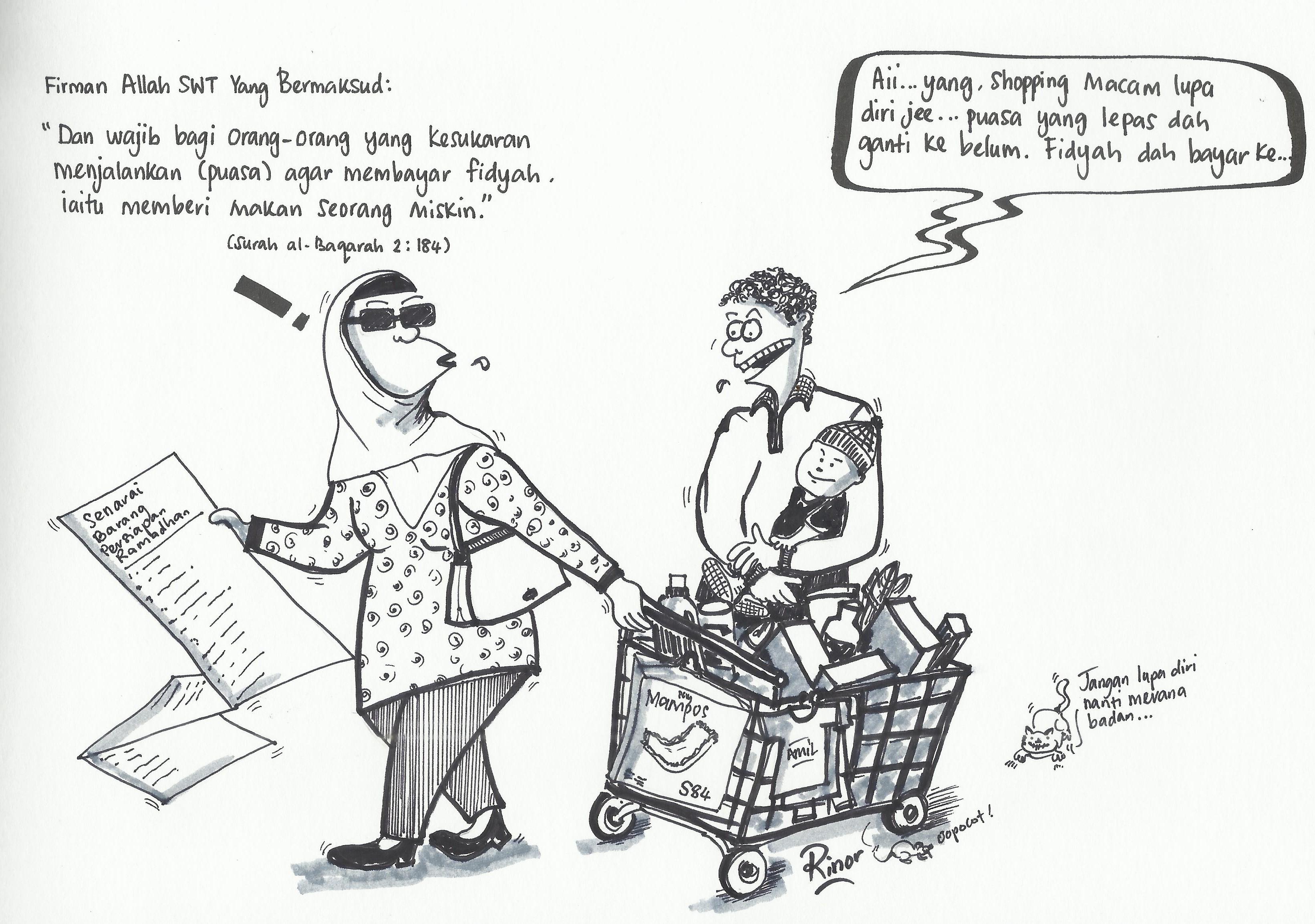 101+ Gambar Animasi Zakat Fitrah Paling Keren